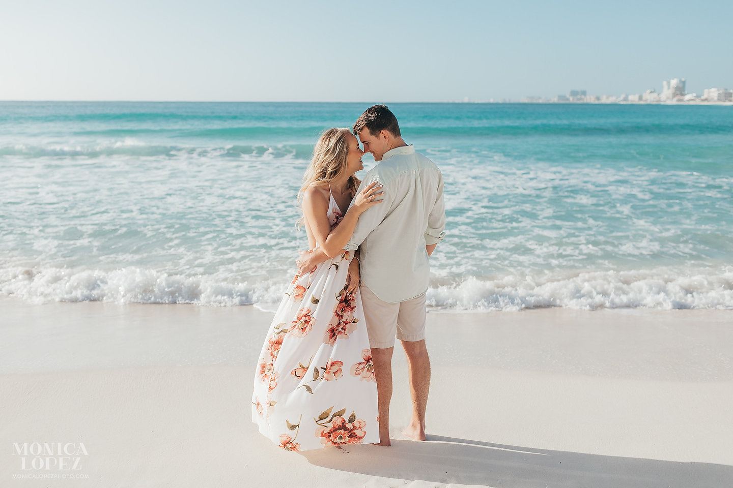Cancun Romantic Portraits, Quintana Roo, Mexico by Monica Lopez Photography