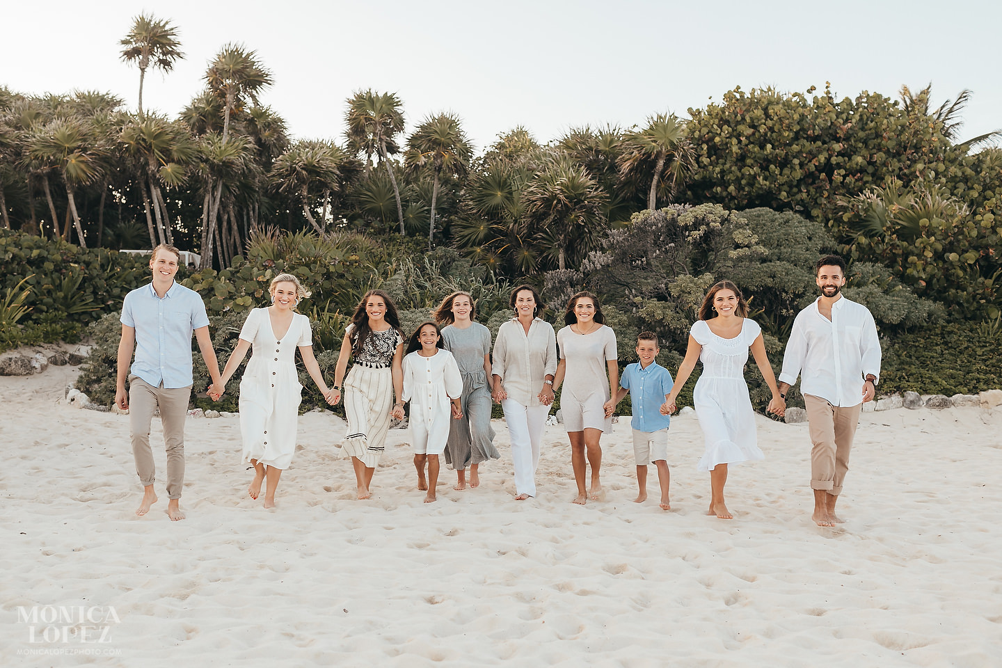 Grand Luxxe at Vidanta Riviera Maya Family Portraits by Monica Lopez Photography