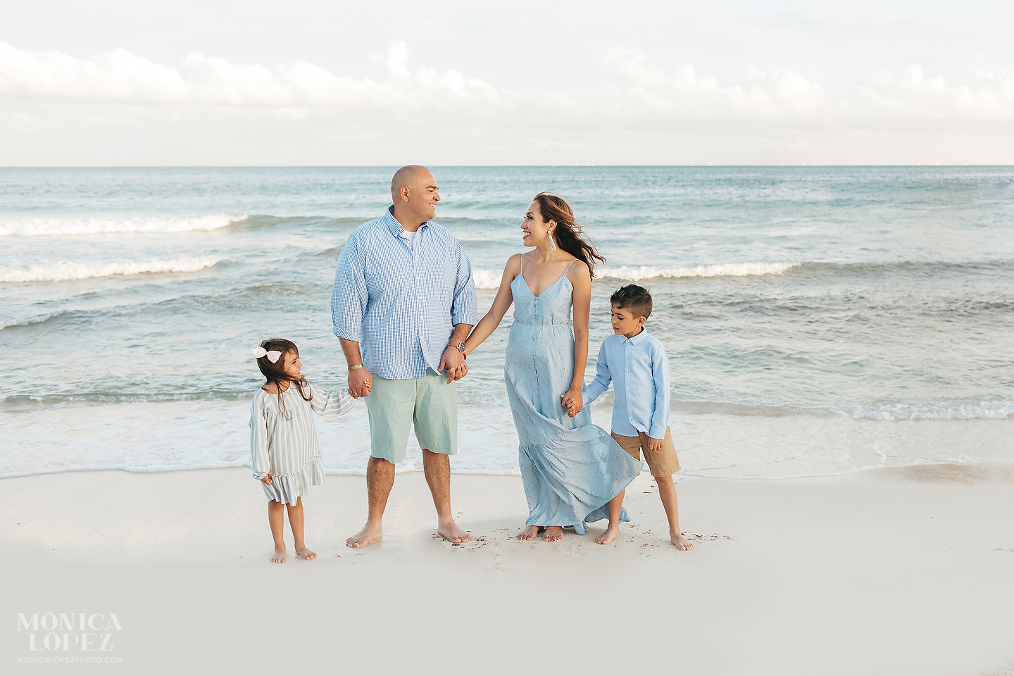 Playa del Carmen Family Portraits - Uribe Family by Monica Lopez Photography