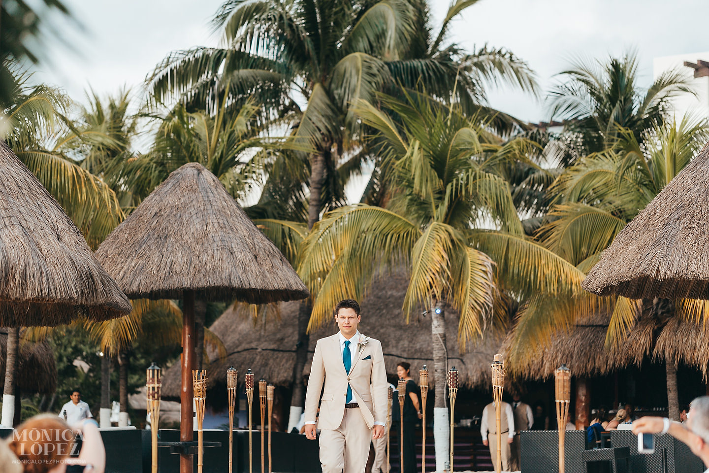 Privilege Aluxes Wedding in Isla Mujeres by Monica Lopez Photography