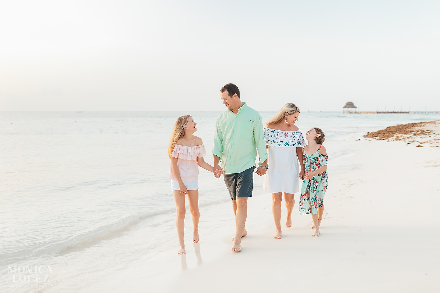 Isla Mujeres Family Portraits by Monica Lopez Photography