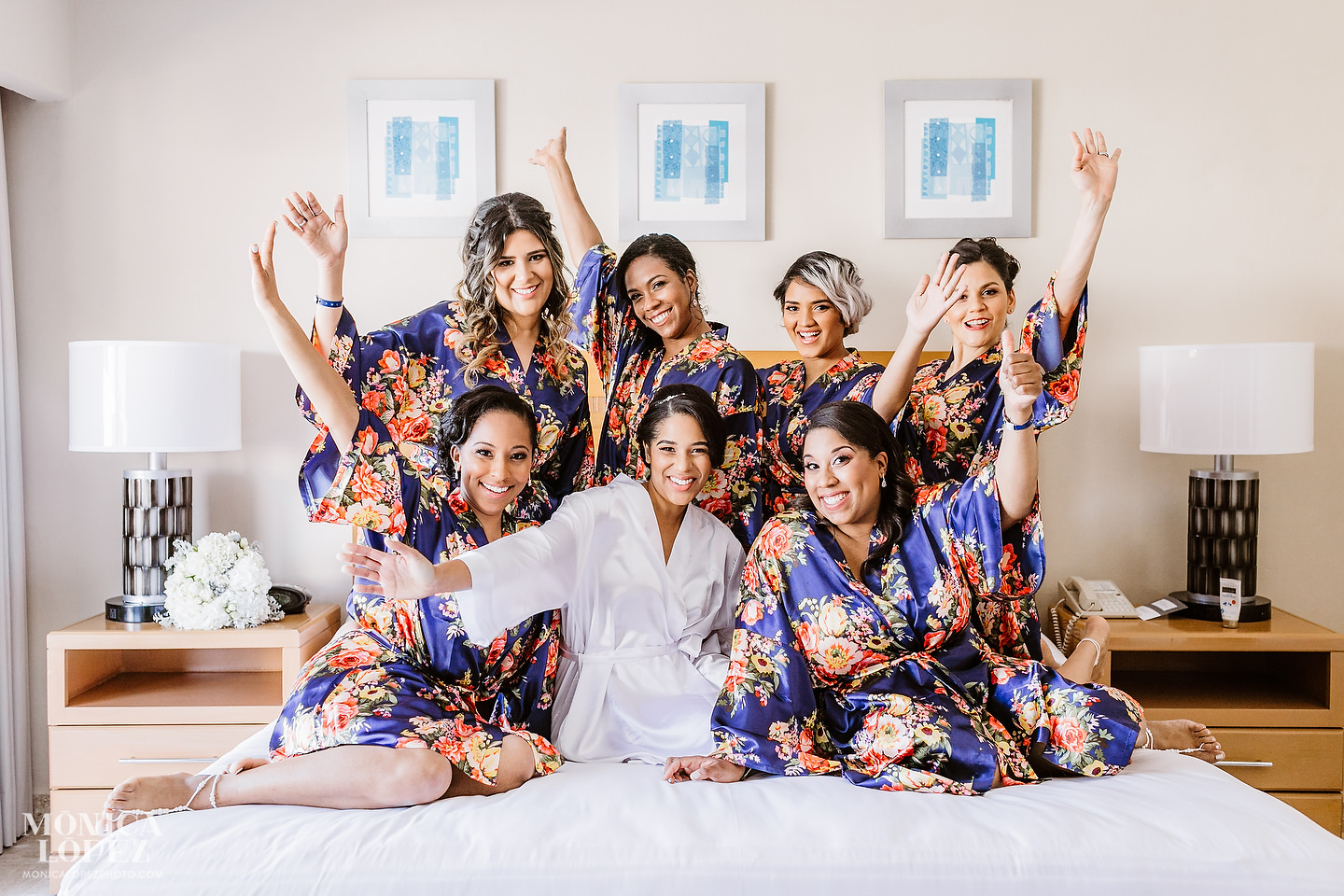 Omni Cancun Wedding by Monica Lopez Photography