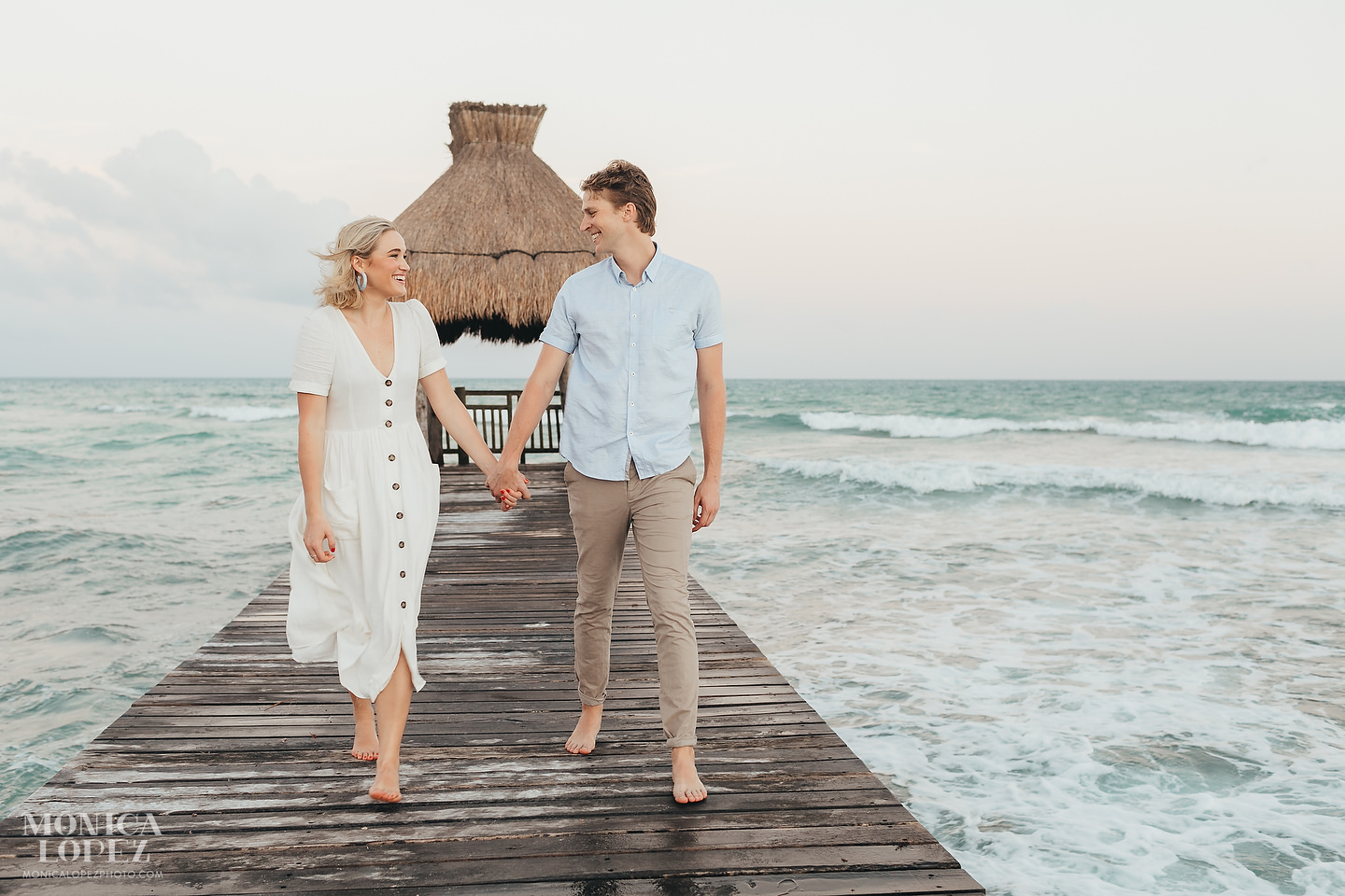 Grand Luxxe Riviera Maya Romantic Portraits by Monica Lopez Photography