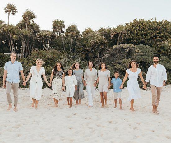Grand Luxxe Riviera Maya Family Portraits by Monica Lopez Photography