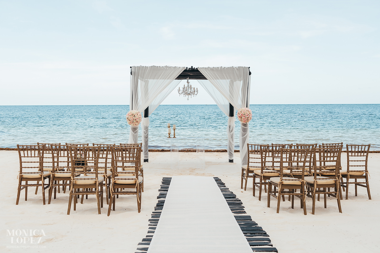 Azul Beach Resort Riviera Maya Wedding by Monica Lopez Photography