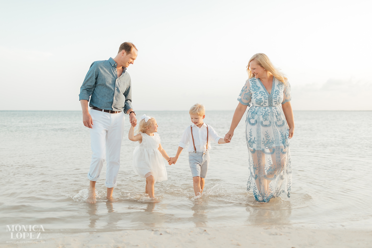 Club Med Cancun Family Portraits - Judd Family by Monica Lopez Photography
