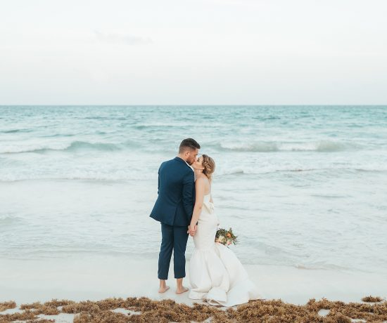 Iberostar Paraiso Lindo Wedding - Rene + Zach by Monica Lopez Photography