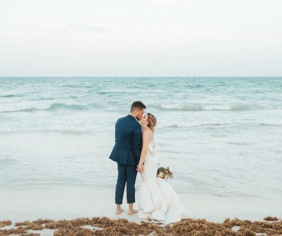 Iberostar Paraiso Lindo Wedding - Rene + Zach by Monica Lopez Photography