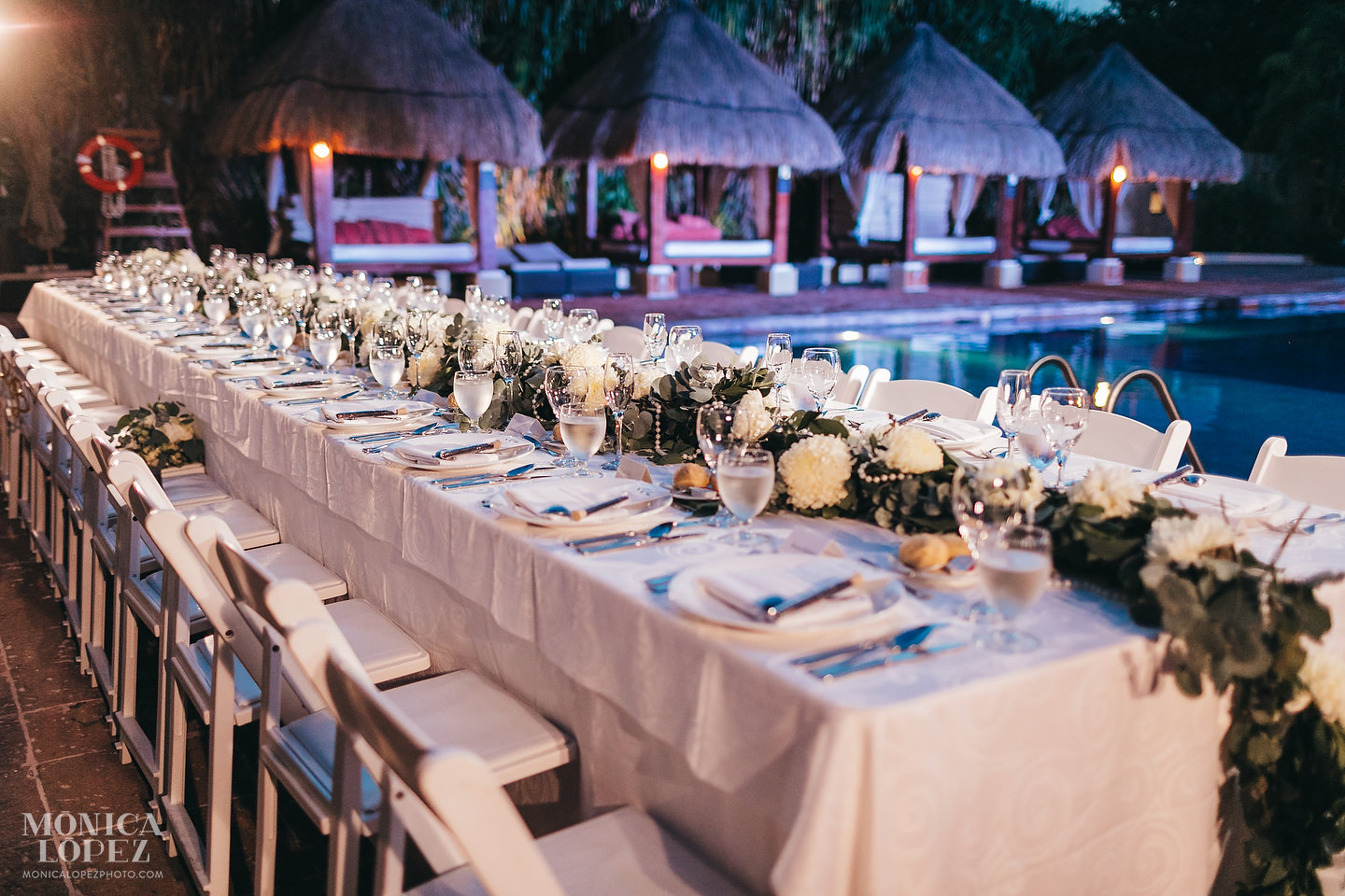 Now Sapphire Riviera Cancun Wedding by Monica Lopez Photography