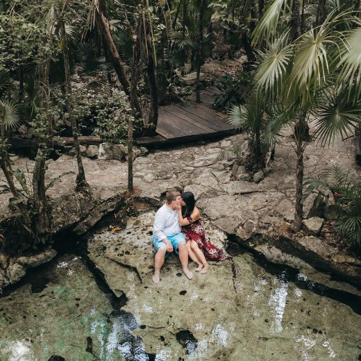 Romantic Cenote Portraits