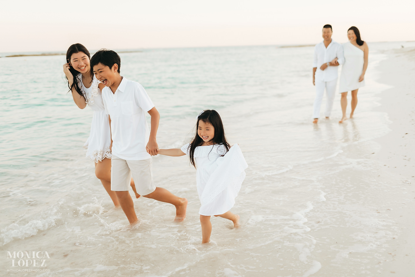 Rosewood Mayakoba Family Portraits by Monica Lopez Photography