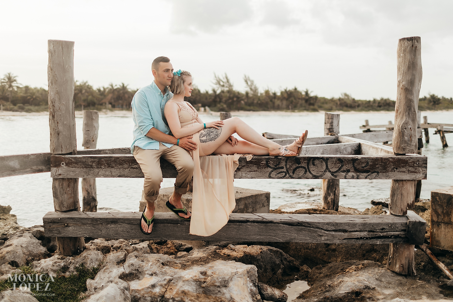 Xpu-Ha-Romantic Anniversary Portraits by Monica Lopez Photography