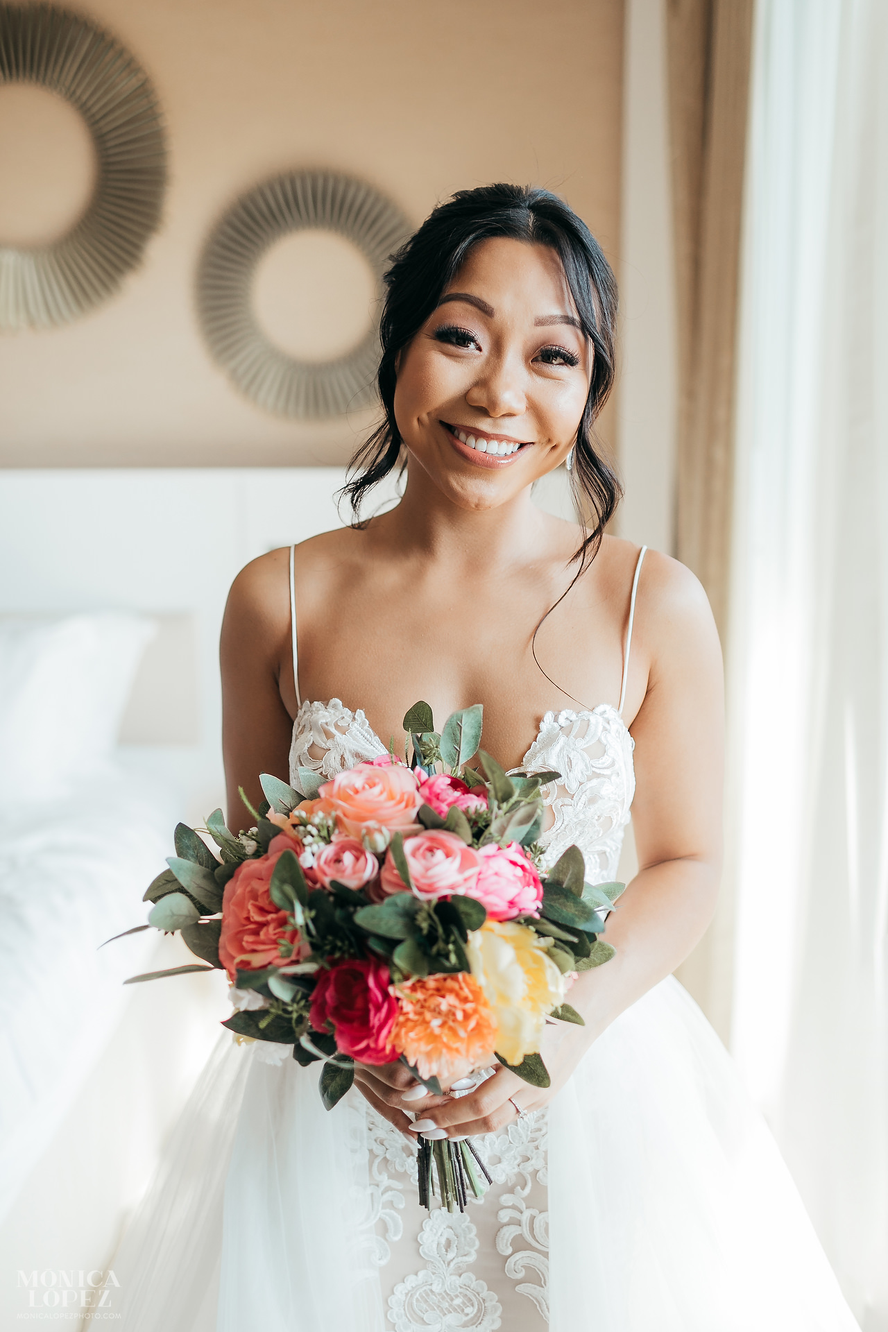 Royalton Riviera Cancun Hideaway Sky Terrace Wedding - Bride Bouquet